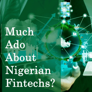 Much Ado About Nigerian Fintechs