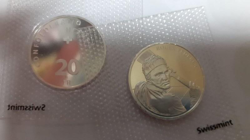Moneta commemorativa 2020 - ROGER FEDERER