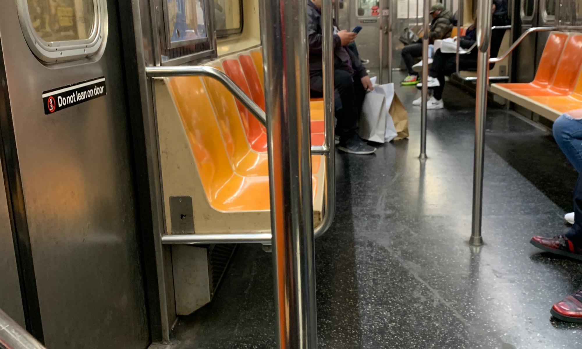Subway Car in March 2020