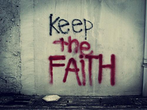Dzisiejsza próba wiary