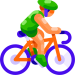 Bicycling to reduce anxiety and depression