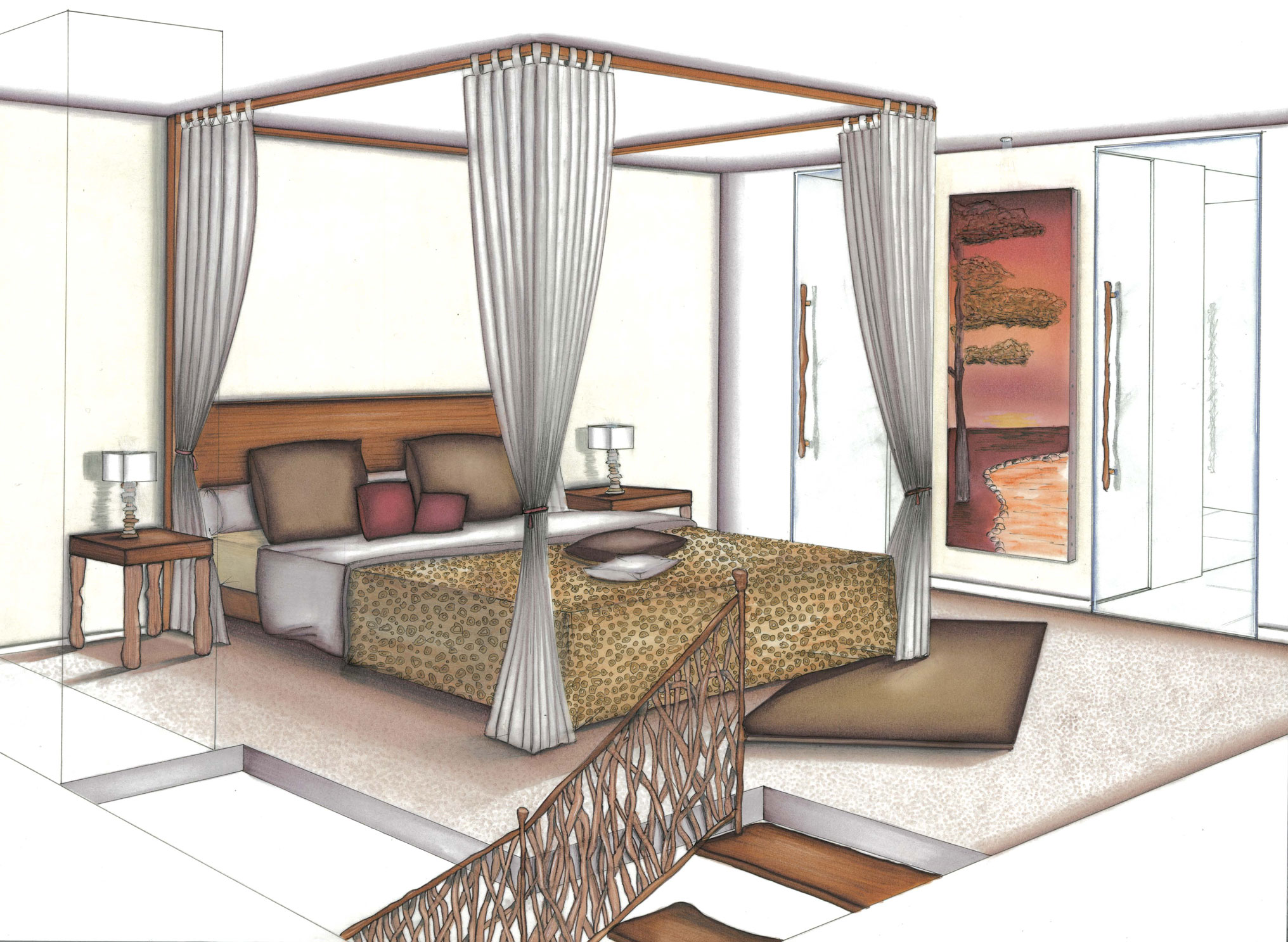 Dessin Chambre En Perspective | 301 Moved Permanently
