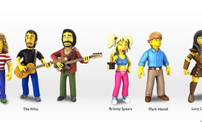 2014 Neca Simpsons 25 Of The Greatest Guest Stars Figures