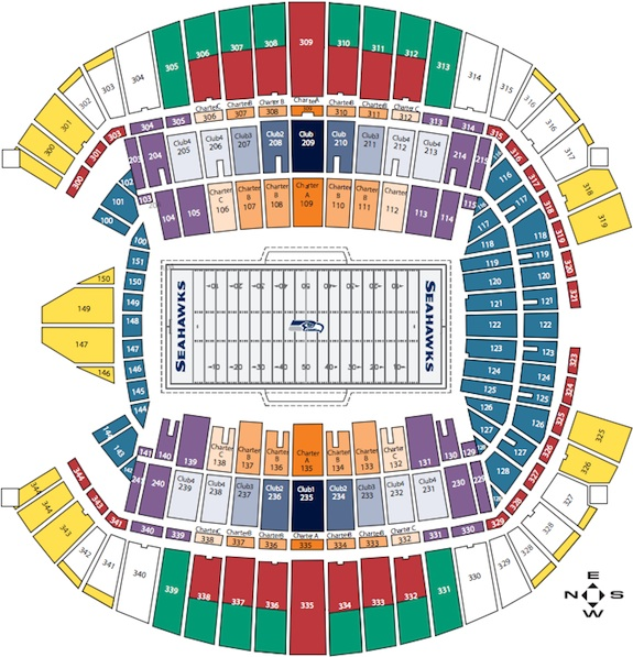Seattle seahawks seating chart with seat numbers brokeasshome com
