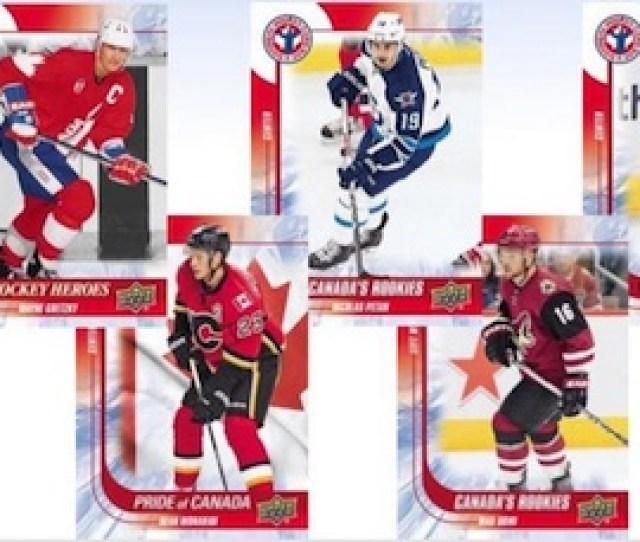 2016 Upper Deck National Hockey Card Day Canada