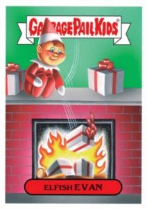 2016 Topps Garbage Pail Kids Christmas Checklist Set Info