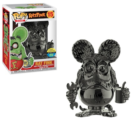 POP ICONS RAT FINK Gray Chrome  SDCC 2019 VF 15