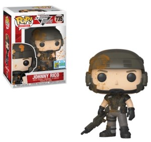 POP MOVIES STARSHIP TROOPERS JOHNNY RICO SDCC 2019 VF 735