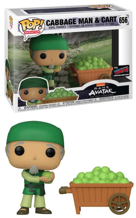 Cabbage Man Funko Pop : cabbage, funko, Funko, Avatar, Airbender, Checklist,, Gallery,, Exclusives