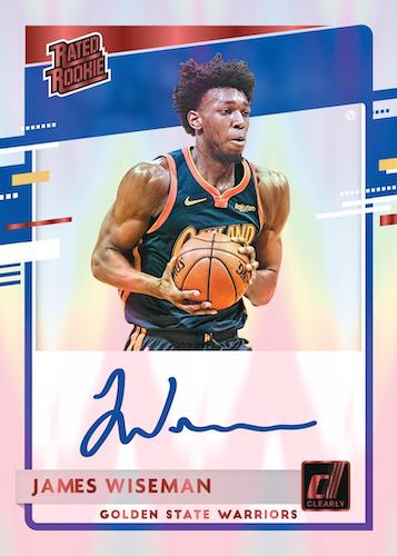 2020-21 Clearly Donruss Basketball Cards - Checklist Added 7
