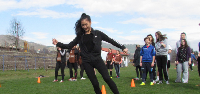 Read more about the article MAGLAJ & HELSINGOR students together at Open Fun Football activities