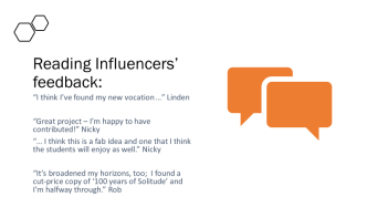 Reading Influencer feedback