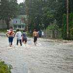 Hurricane Irene takes on Highland (Lloyd), NY