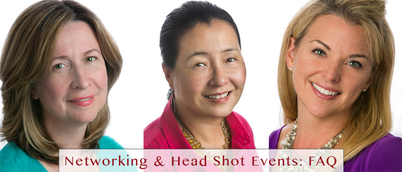 Networking and Head Shot Events - FAQ
