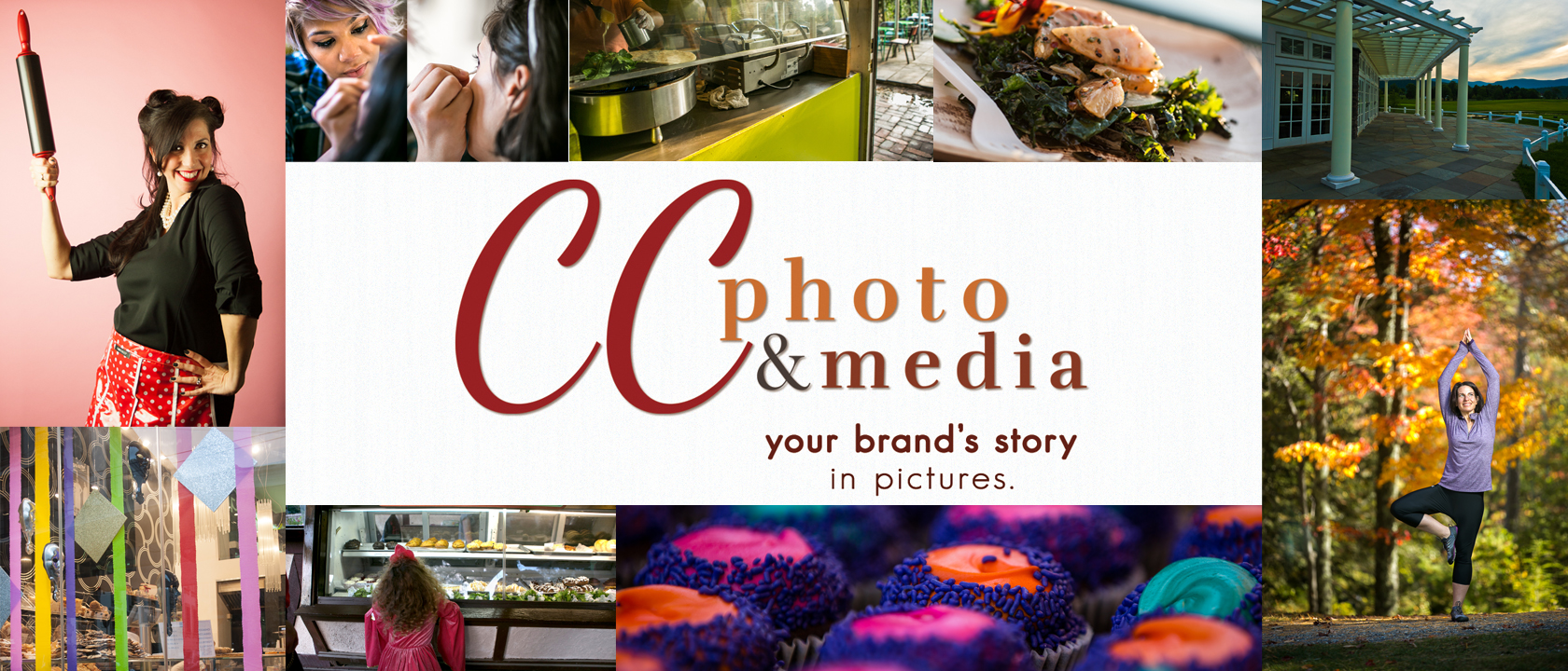 cc photo & media - telling your brand's story through pictures