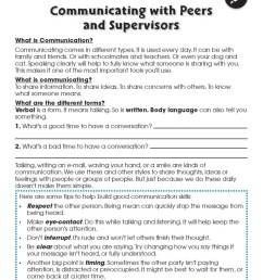 Learning Communication \u0026 Teamwork: Building Communication Skills -  WORKSHEETS - Grades 3 to 8+ - eBook - Worksheets - CCP Interactive [ 1165 x 900 Pixel ]
