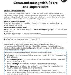 Learning Communication \u0026 Teamwork: Building Communication Skills -  WORKSHEETS - Grades 3 to 8+ - eBook - Worksheets - CCP Interactive [ 1165 x 900 Pixel ]