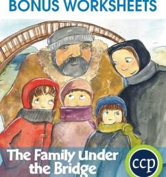 The Family Under the Bridge - BONUS WORKSHEETS - Grades 3 to 4 - eBook -  Bonus Worksheets - CCP Interactive [ 1046 x 900 Pixel ]