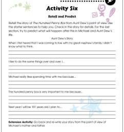The Hundred Penny Box - BONUS WORKSHEETS - Grades 3 to 4 - eBook - Bonus  Worksheets - CCP Interactive [ 1165 x 900 Pixel ]
