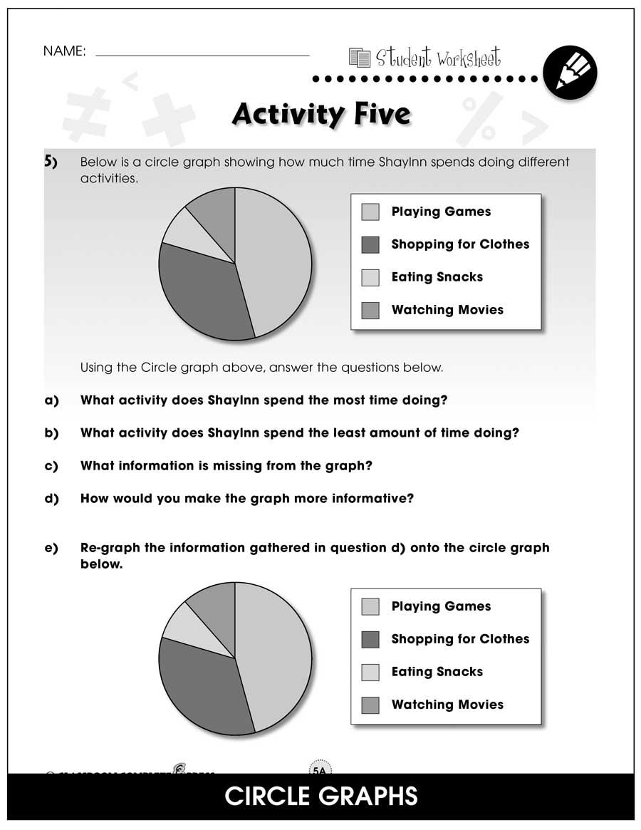 medium resolution of Data Analysis \u0026 Probability - Task Sheets Gr. 6-8 - BONUS WORKSHEETS -  Grades 6 to 8 - eBook - Bonus Worksheets - CCP Interactive