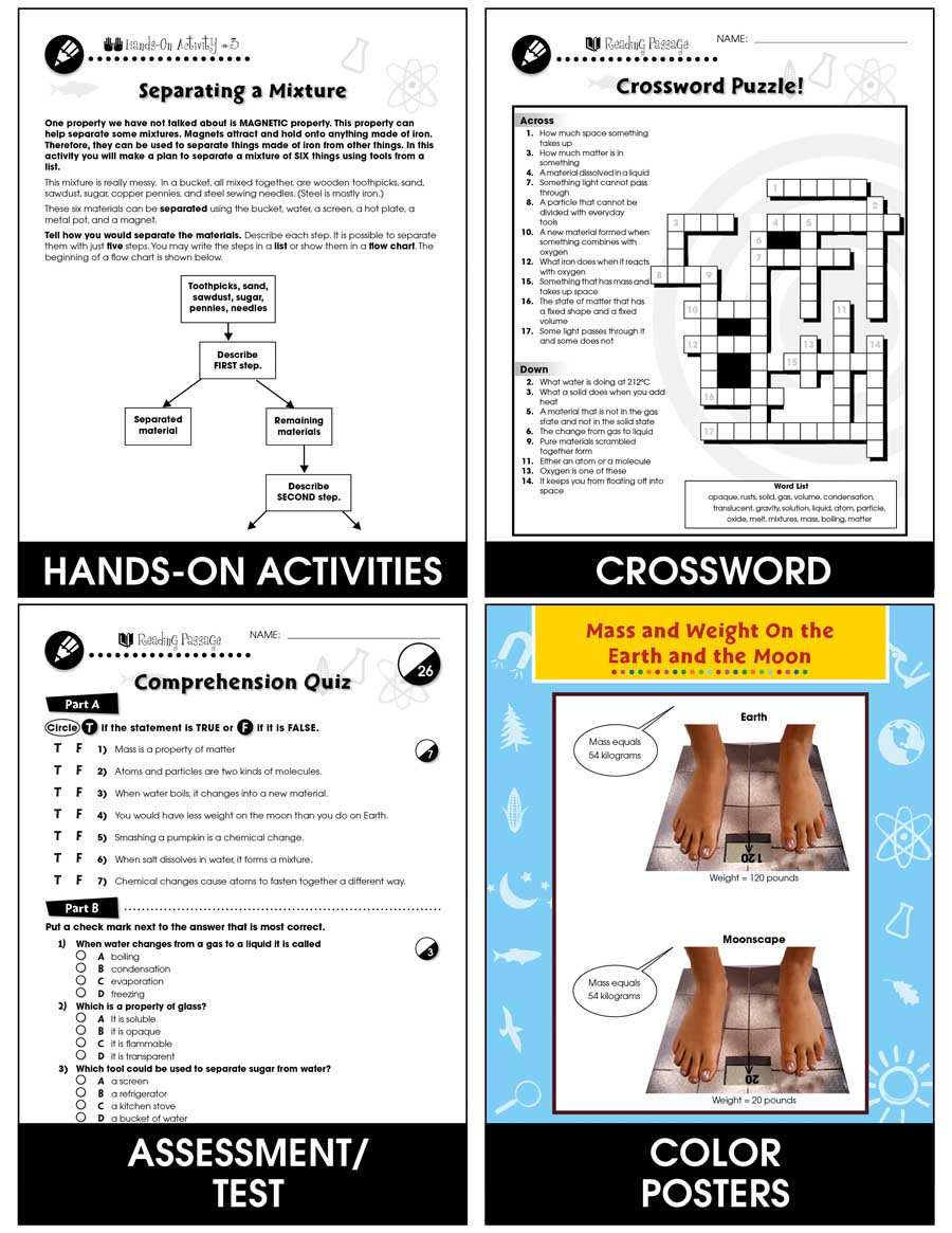 hight resolution of Properties of Matter - Grades 5 to 8 - Print Book - Lesson Plan - CCP  Interactive
