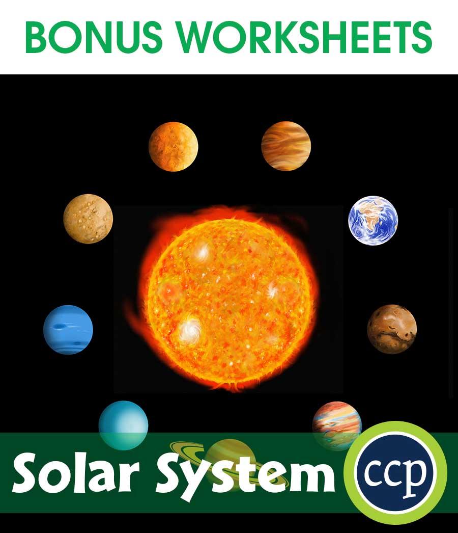 hight resolution of Solar System - BONUS WORKSHEETS - Grades 5 to 8 - eBook - Bonus Worksheets  - CCP Interactive