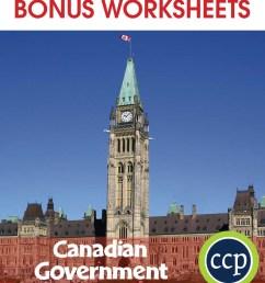 Canadian Government - BONUS WORKSHEETS - Grades 5 to 8 - eBook - Bonus  Worksheets - CCP Interactive [ 1046 x 900 Pixel ]