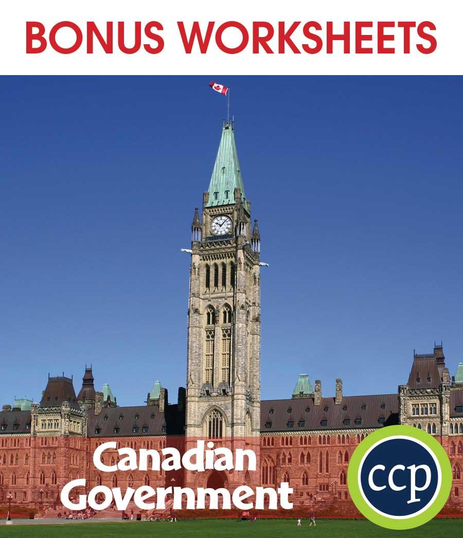 medium resolution of Canadian Government - BONUS WORKSHEETS - Grades 5 to 8 - eBook - Bonus  Worksheets - CCP Interactive