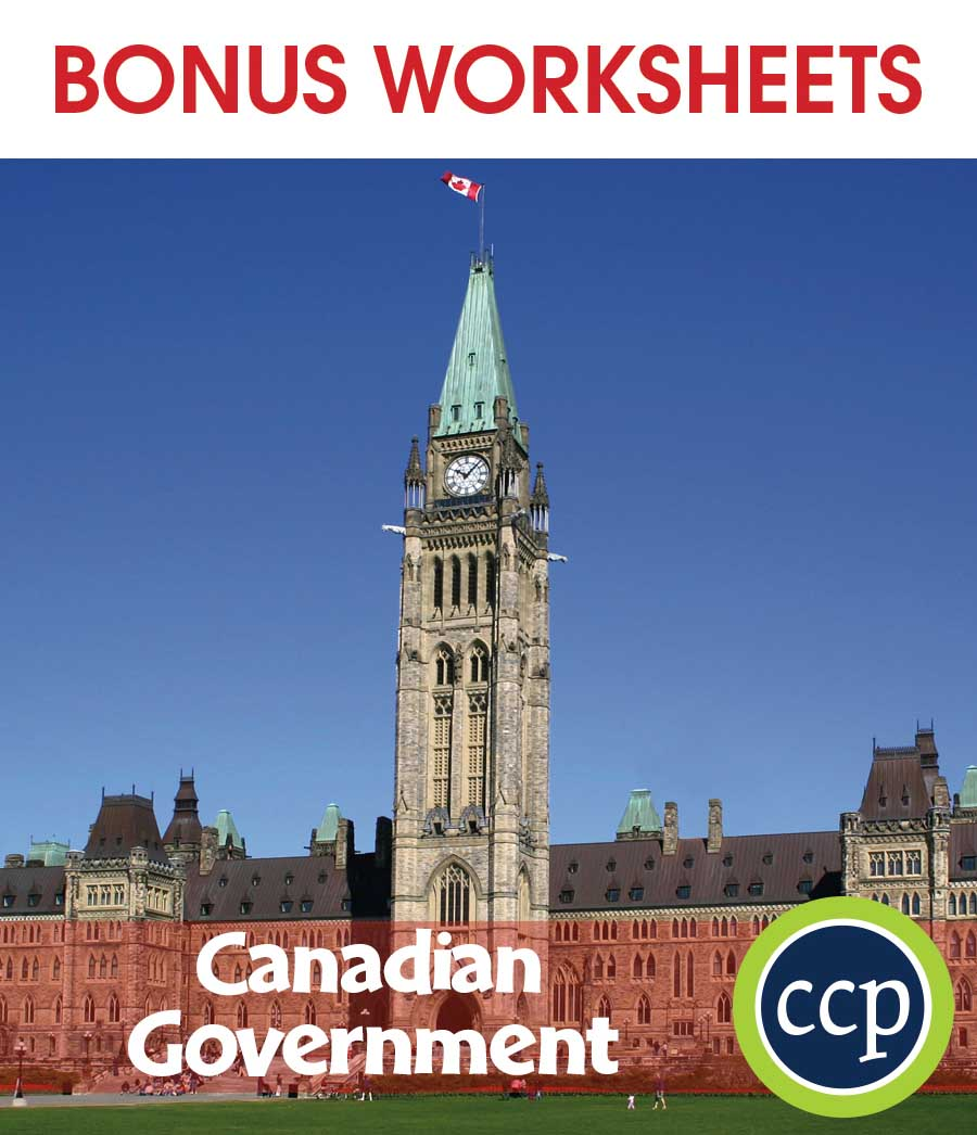 hight resolution of Canadian Government - BONUS WORKSHEETS - Grades 5 to 8 - eBook - Bonus  Worksheets - CCP Interactive