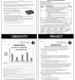 21st Century Skills - Learning Problem Solving - BONUS WORKSHEETS - Grades 3  to 8+ - eBook - Bonus Worksheets - CCP Interactive [ 1165 x 900 Pixel ]