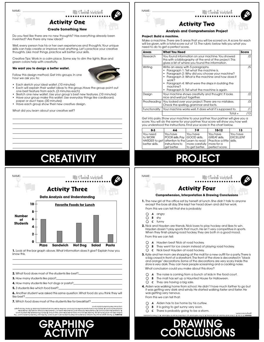 medium resolution of 21st Century Skills - Learning Problem Solving - BONUS WORKSHEETS - Grades 3  to 8+ - eBook - Bonus Worksheets - CCP Interactive