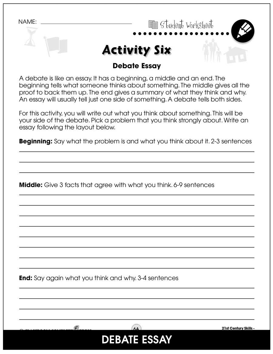hight resolution of 21st Century Skills - Learning Communication \u0026 Teamwork - BONUS WORKSHEETS  - Grades 3 to 8+ - eBook - Bonus Worksheets - CCP Interactive