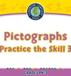 Data Analysis \u0026 Probability: Pictographs - Practice the Skill 3 - PK-2 -  Grades PK to 2 - Digital Lesson - Educational Software - CCP Interactive [ 900 x 900 Pixel ]