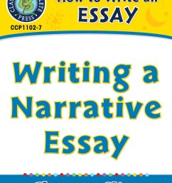 How to Write an Essay: Writing a Narrative Essay - Grades 5 to 8 - Lesson  Plan - Worksheets - CCP Interactive [ 1164 x 899 Pixel ]