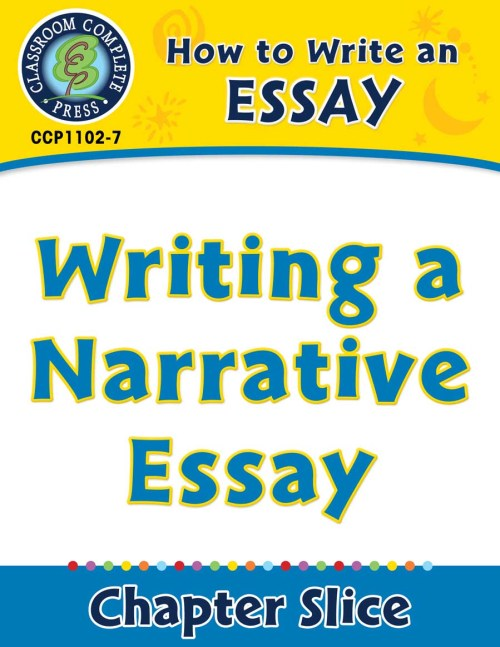 small resolution of How to Write an Essay: Writing a Narrative Essay - Grades 5 to 8 - Lesson  Plan - Worksheets - CCP Interactive