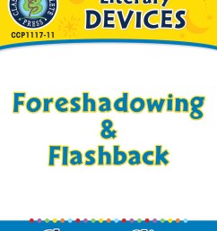 Literary Devices: Foreshadowing \u0026 Flashback - Grades 5 to 8 - Lesson Plan -  Worksheets - CCP Interactive [ 1165 x 900 Pixel ]