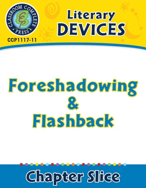 small resolution of Literary Devices: Foreshadowing \u0026 Flashback - Grades 5 to 8 - Lesson Plan -  Worksheets - CCP Interactive
