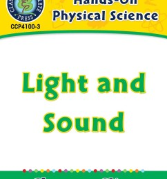 Hands-On - Physical Science: Light and Sound Gr. 1-5 - Grades 1 to 5 -  Lesson Plan - Worksheets - CCP Interactive [ 1165 x 900 Pixel ]
