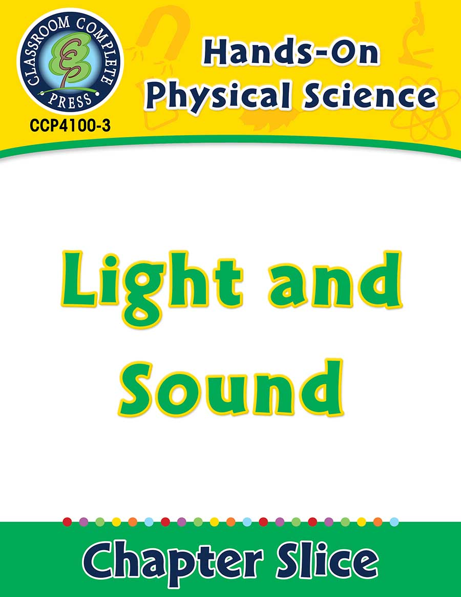 hight resolution of Hands-On - Physical Science: Light and Sound Gr. 1-5 - Grades 1 to 5 -  Lesson Plan - Worksheets - CCP Interactive