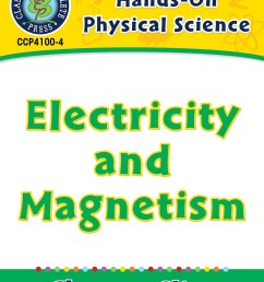 Hands-On - Physical Science: Electricity and Magnetism Gr. 1-5 - Grades 1  to 5 - Lesson Plan - Worksheets - CCP Interactive [ 1165 x 900 Pixel ]