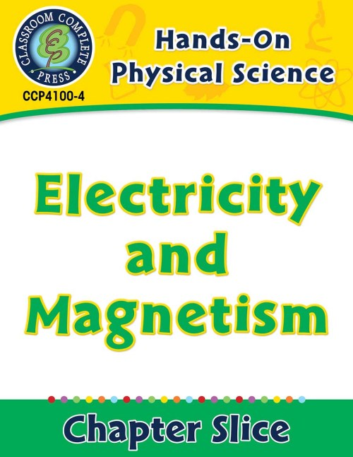 small resolution of Hands-On - Physical Science: Electricity and Magnetism Gr. 1-5 - Grades 1  to 5 - Lesson Plan - Worksheets - CCP Interactive