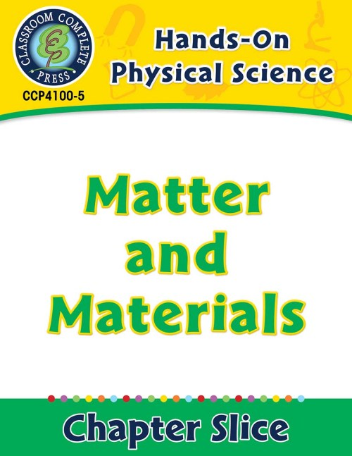 small resolution of Hands-On - Physical Science: Matter and Materials Gr. 1-5 - Grades 1 to 5 -  Lesson Plan - Worksheets - CCP Interactive