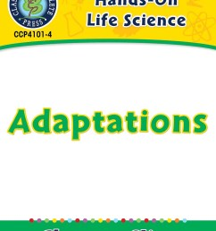Hands-On - Life Science: Adaptations Gr. 1-5 - Grades 1 to 5 - Lesson Plan  - Worksheets - CCP Interactive [ 1165 x 900 Pixel ]