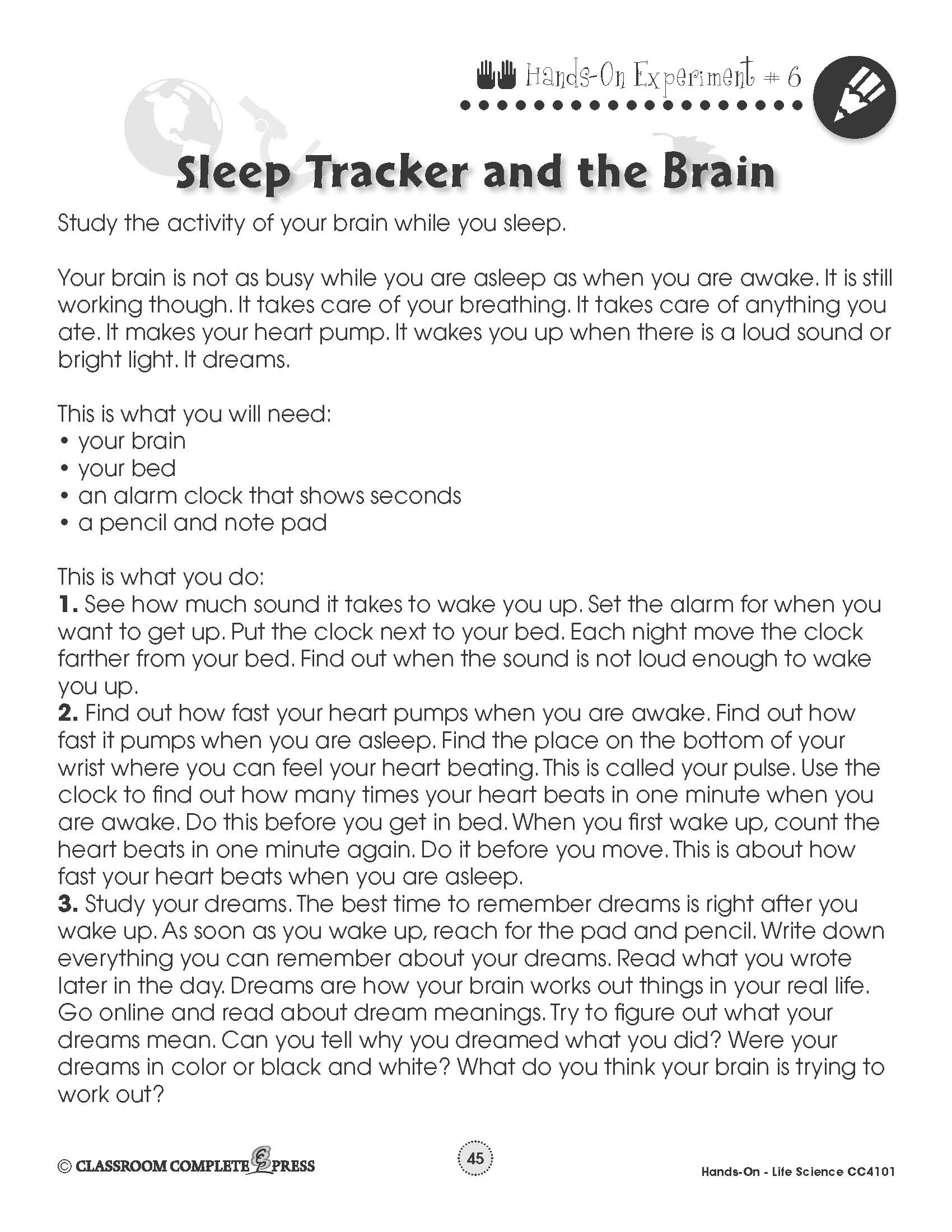 Life Science Sleep Tracker