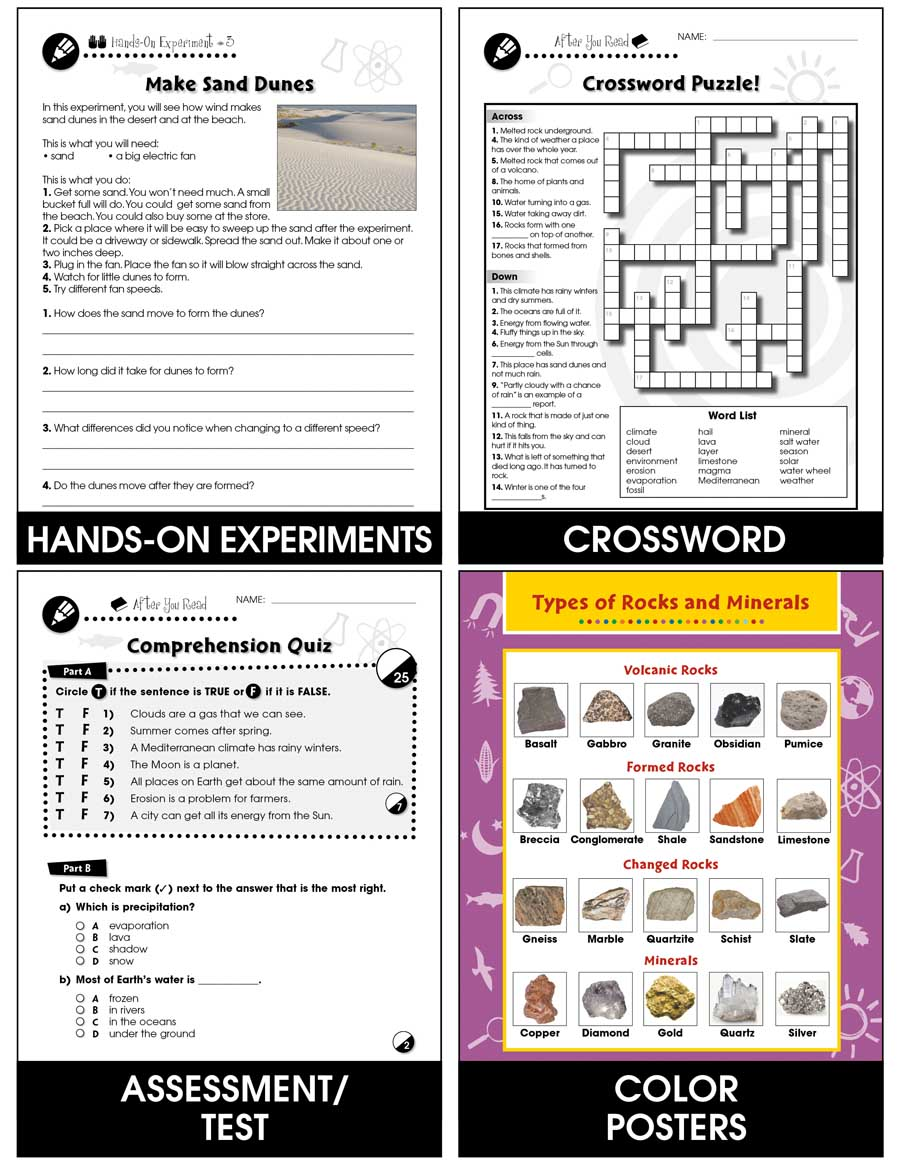 hight resolution of Hands-On - Earth \u0026 Space Science: Air and Water Gr. 1-5 - Grades 1 to 5 -  Lesson Plan - Worksheets - CCP Interactive
