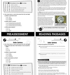Hands-On - Earth \u0026 Space Science: Solar System Gr. 1-5 - Grades 1 to 5 -  Lesson Plan - Worksheets - CCP Interactive [ 1165 x 900 Pixel ]