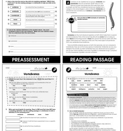 Classification \u0026 Adaptation: Vertebrates Gr. 5-8 - Grades 5 to 8 - Lesson  Plan - Worksheets - CCP Interactive [ 1165 x 900 Pixel ]