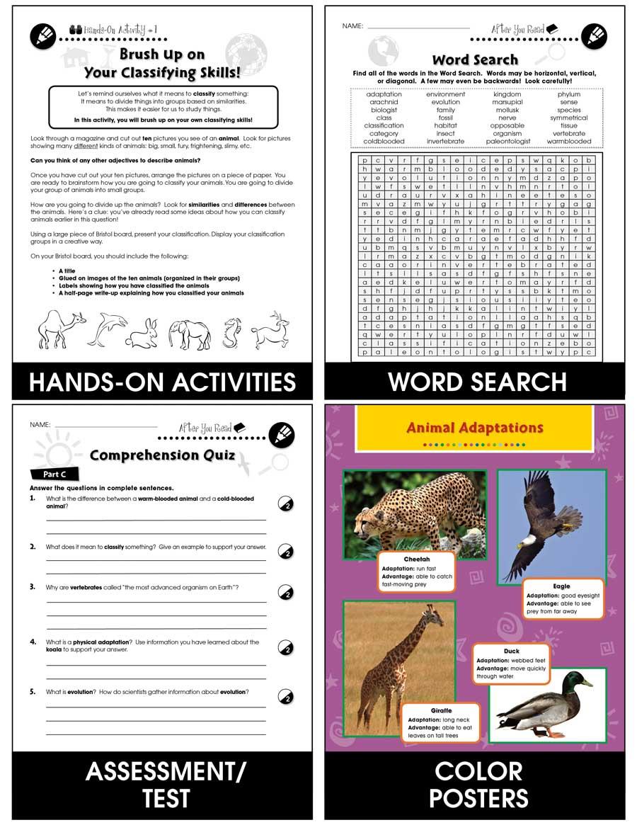 medium resolution of Classification \u0026 Adaptation: Invertebrates Gr. 5-8 - Grades 5 to 8 - Lesson  Plan - Worksheets - CCP Interactive