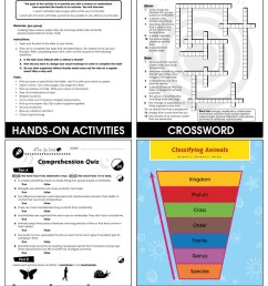 Classification \u0026 Adaptation: Animal Adaptations Gr. 5-8 - Grades 5 to 8 -  Lesson Plan - Worksheets - CCP Interactive [ 1165 x 900 Pixel ]