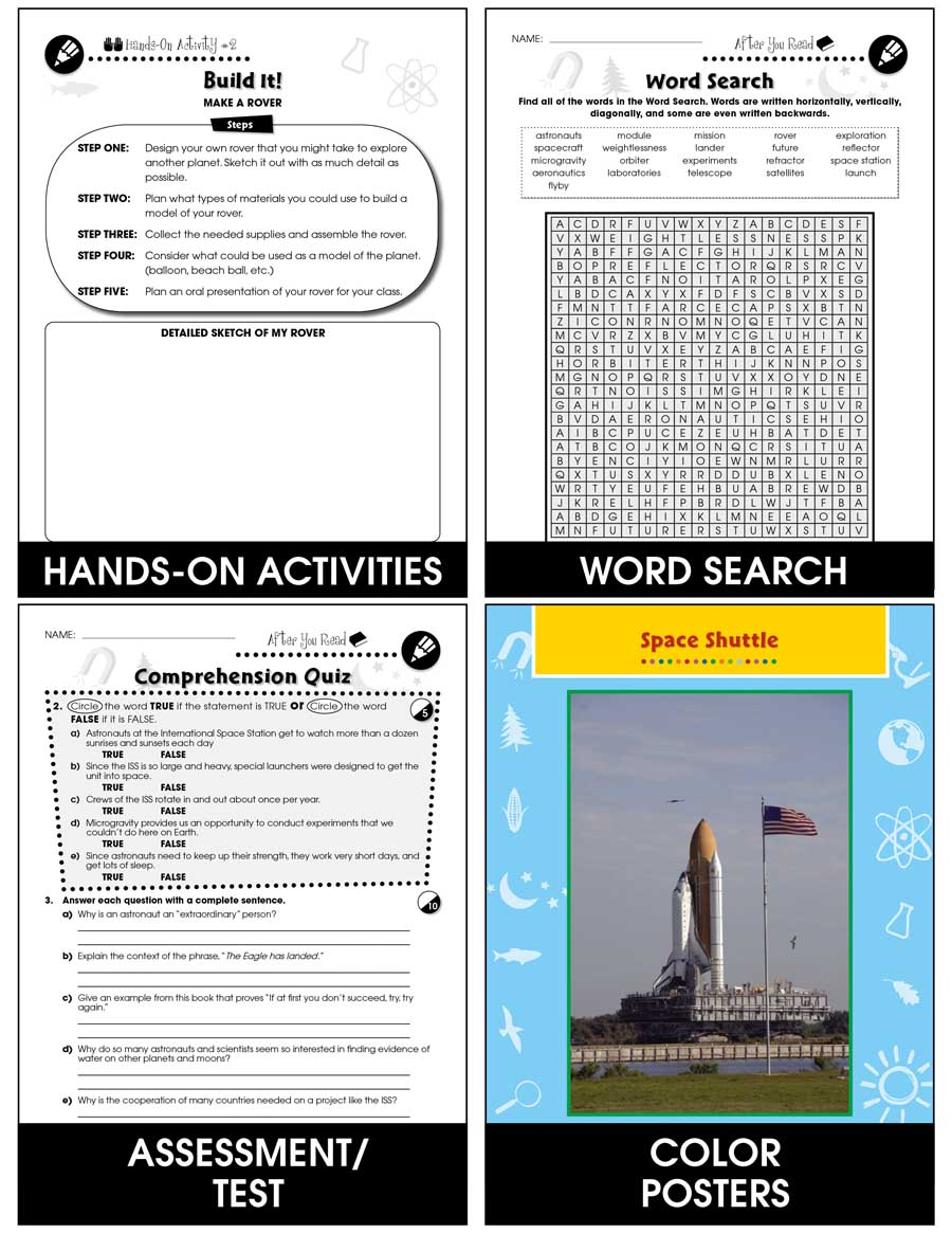 medium resolution of Space Travel \u0026 Technology: Looking Into Space Gr. 5-8 - Grades 5 to 8 -  Lesson Plan - Worksheets - CCP Interactive